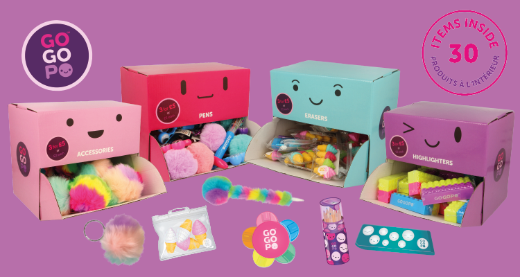 GOGOPO™ Stationery Toys