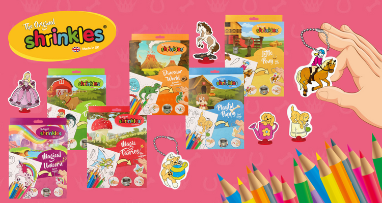 Original Shrinkles™ Craft Kits Toys
